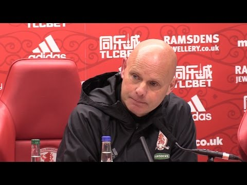 Middlesbrough 1-2 Arsenal - Steve Agnew Full Post Match Press Conference