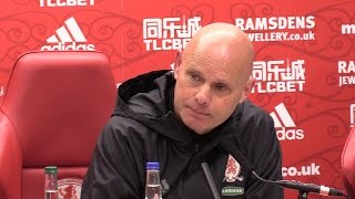 Middlesbrough 1 2 Arsenal  Steve Agnew Full Post Match Press Conference
