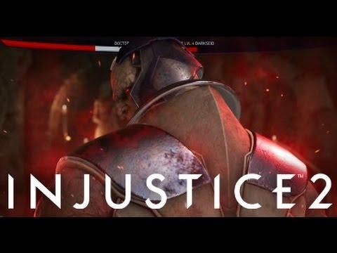 Injustice 2 - Darkseid Super Move!