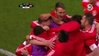 Goal   Golo Rúben Dias: Sporting 1-(3) Benfica (Liga 18/19 #20)