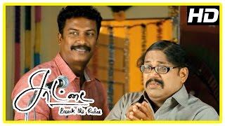 Saattai Tamil movie climax scene | Samuthirakani takes transfer | Thambi Ramaiah | End Credits