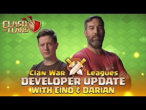 Clash of Clans - Clan War Leagues - Developer Update with Eino & Darian