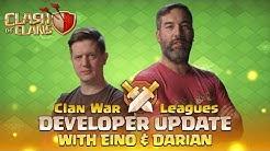 Clash of Clans - Clan War Leagues - Developer Update with Eino & Darian