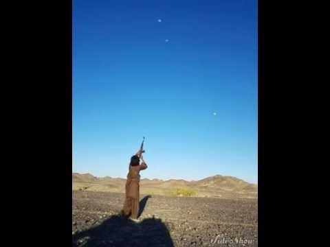 Pakistaní disparando - Peer Muhammad Lashari Baloch