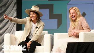 Elisabeth Moss with Brandi Carlile | SXSW 2019