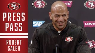Robert Saleh Analyzes the 49ers Defense in the Final Week of the Preseason