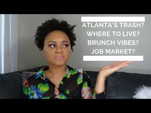 I Moved To Atlanta Without A Job (One Year Later)| THINGS TO DO, CULTURE, & MORE!