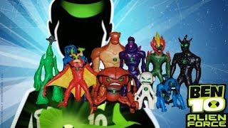 Бен 10 Инопланетная Сила Обзор Фигурок Из Пластилина