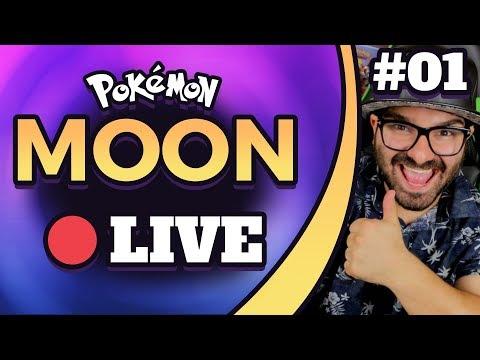 LET'S PLAY POKEMON MOON LIVE W/ ORIGINAL151! [CUSTOM EMOJIS FOR SPONSORS!]
