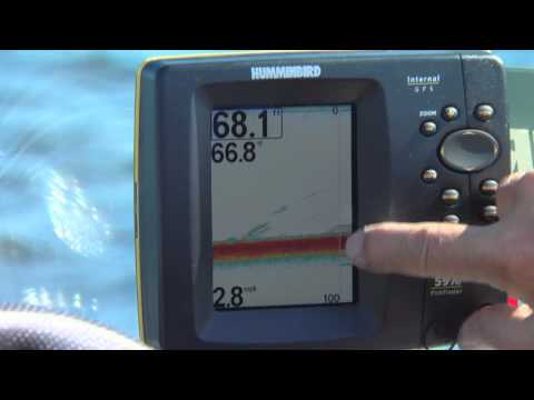 Using a HUMMINBIRD Sonar as a GPS for fishing