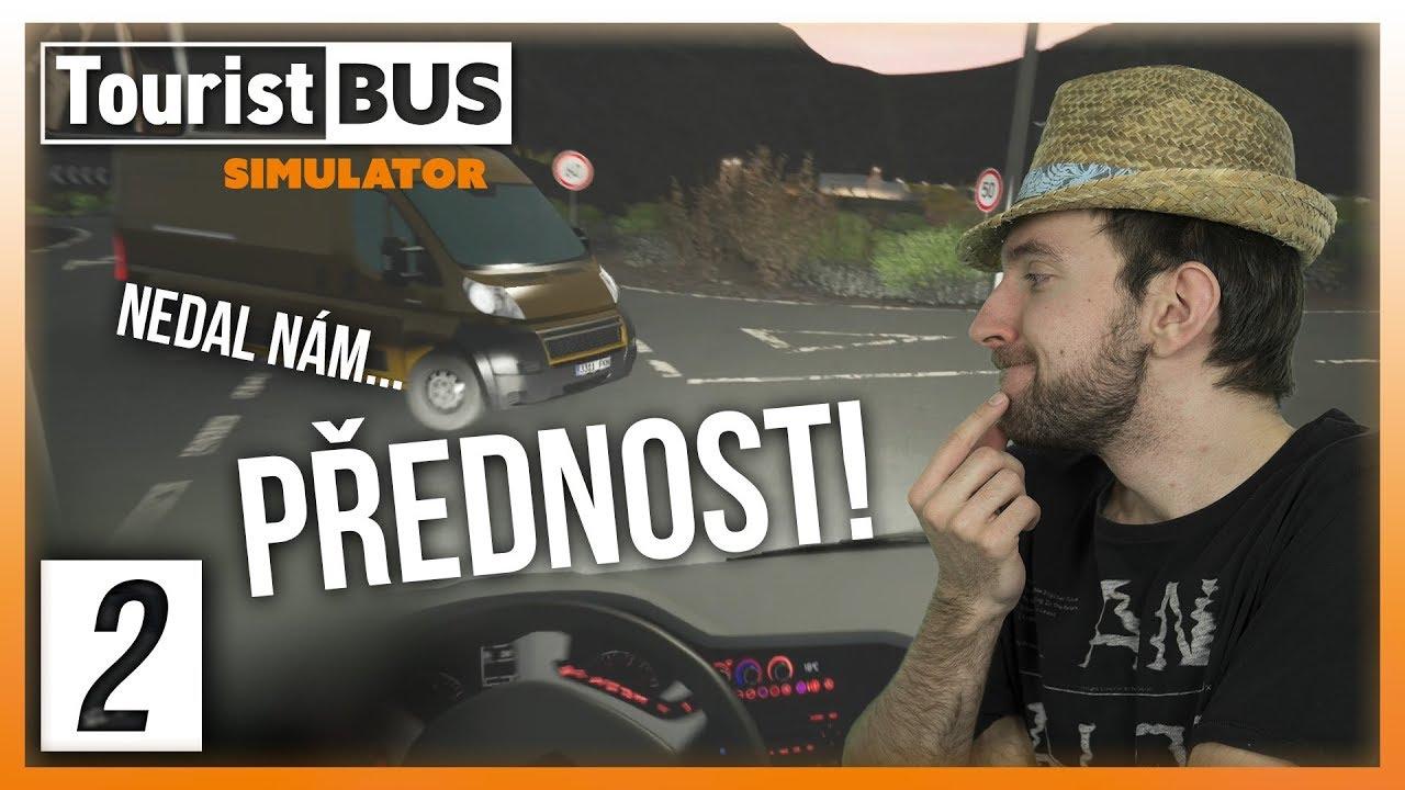 NEDAL NÁM PŘEDNOST! | Tourist Bus Simulator #02