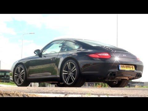 Testdrive: Porsche 997 Carrera Black Edition w/ engine sounds