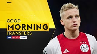 Will Manchester United sign Donny van de Beek in January? | Good Morning Transfers