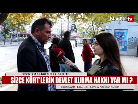 Sizce Kürt'lerin devlet kurma hakkı var mı ?