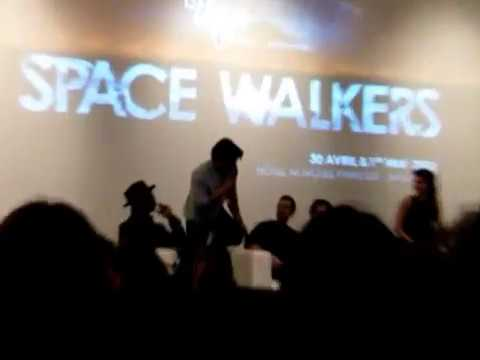 Marie, Bob, Thomas, Chelsey, Sachin, Christopher, Jarod, Isaiah, Ty and Jessica at the Space Walkers