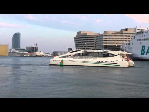 Port de barcelona eco naval tour
