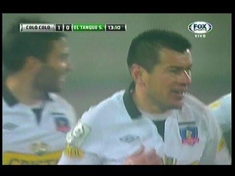 Colo Colo vs Tanque Sisley  2-0 -  Todos los Goles - Copa Sudamericana - 07/Agosto/2013