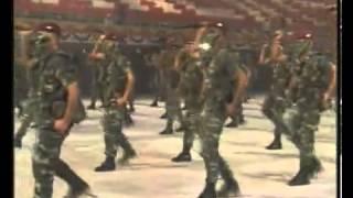 Malaysian Airbone Brigade War Dance