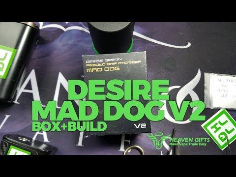 Merry Christmas 2017! Mad Dog v2 Box+Build | VapeAM Ep 122
