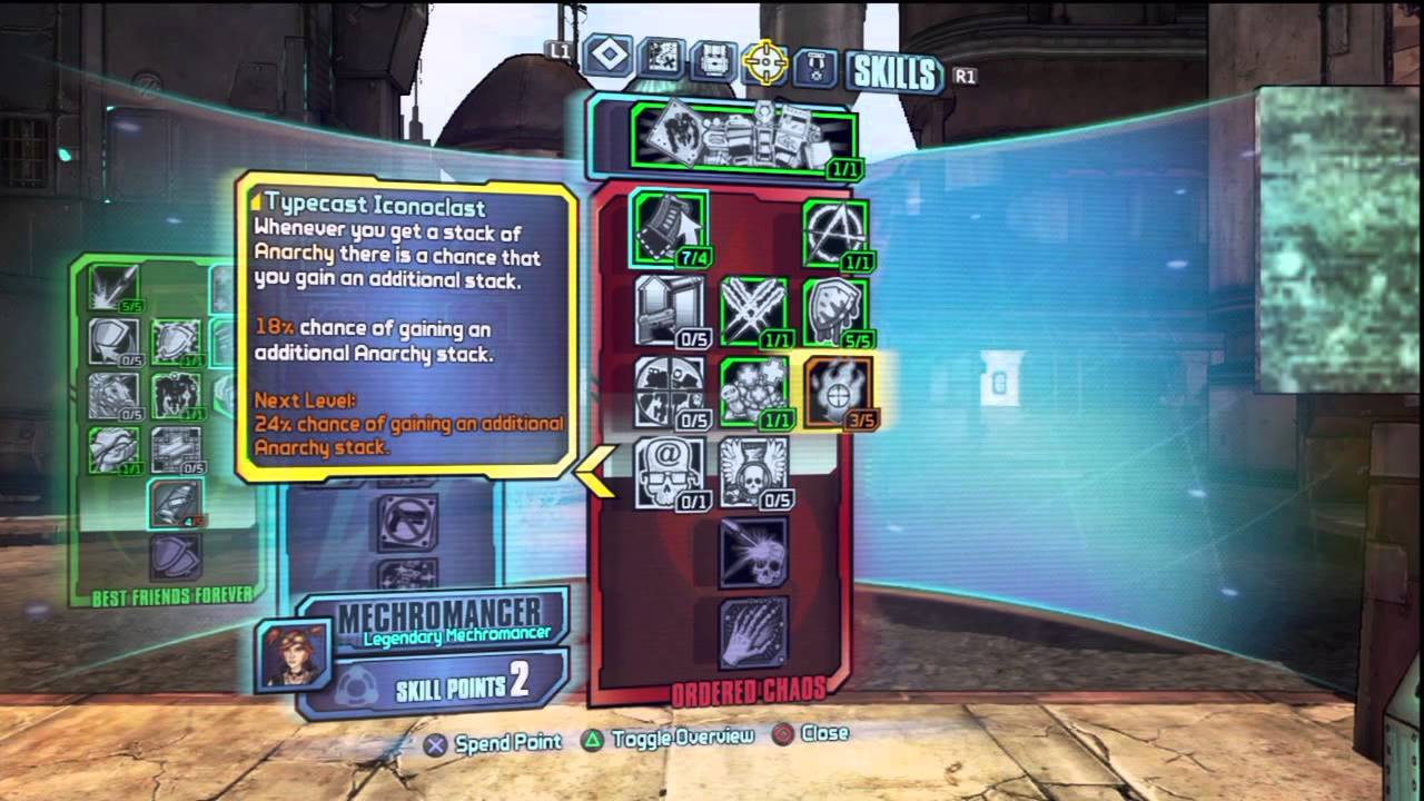 Ding! Level 50 Gaige Legendary Mechromancer Skill Tree Build