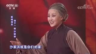 [梨园闯关我挂帅]现代京剧《沙家浜》选段 挂帅人:李大光、杨子一  CCTV戏曲
