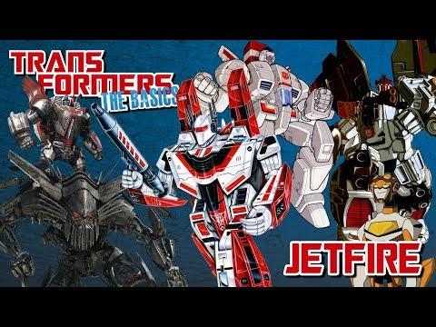 TRANSFORMERS: THE BASICS on JETFIRE