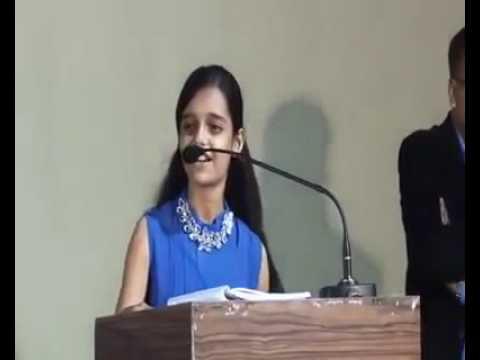 Garvi gujarat speech by gujarati girl