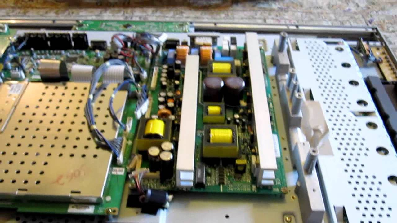 DIY LG LCD Flatpanel TV repair with blown capacitor  YouTube