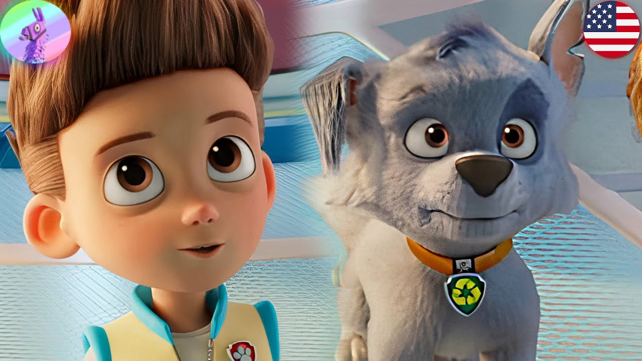 PAW Patrol The Movie: Mighty Pups on A Roll! - Pups Chase,Ryder Rescue Team #1 - Games HD