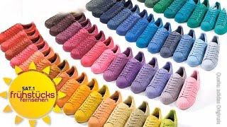 Mode-Machos checken Sneakers | SAT.1 Frühstücksfernsehen