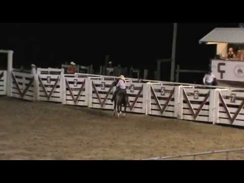 Cowtown Rodeo Barrel Racing July 2013 Carly and April