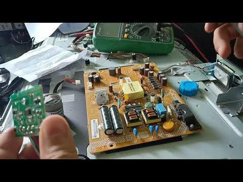 dùng board nguồn 5 dây ic toshiba k2698 sửa tivi Led và LCD dưới 45 inch đơn giản mà hiệu quả