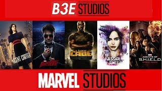 All MCU TV Shows (Marvel Cinematic Universe)