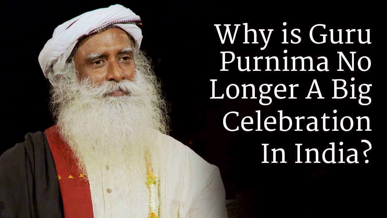 Guru Purnima 2019 | July 16, 2019 (Tuesday) | Celebrate with Sadhguru
