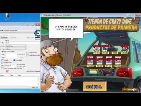 Hack de dinero para el plantas vs zombies cheat engine 6 - Plantas para atraer el dinero ...