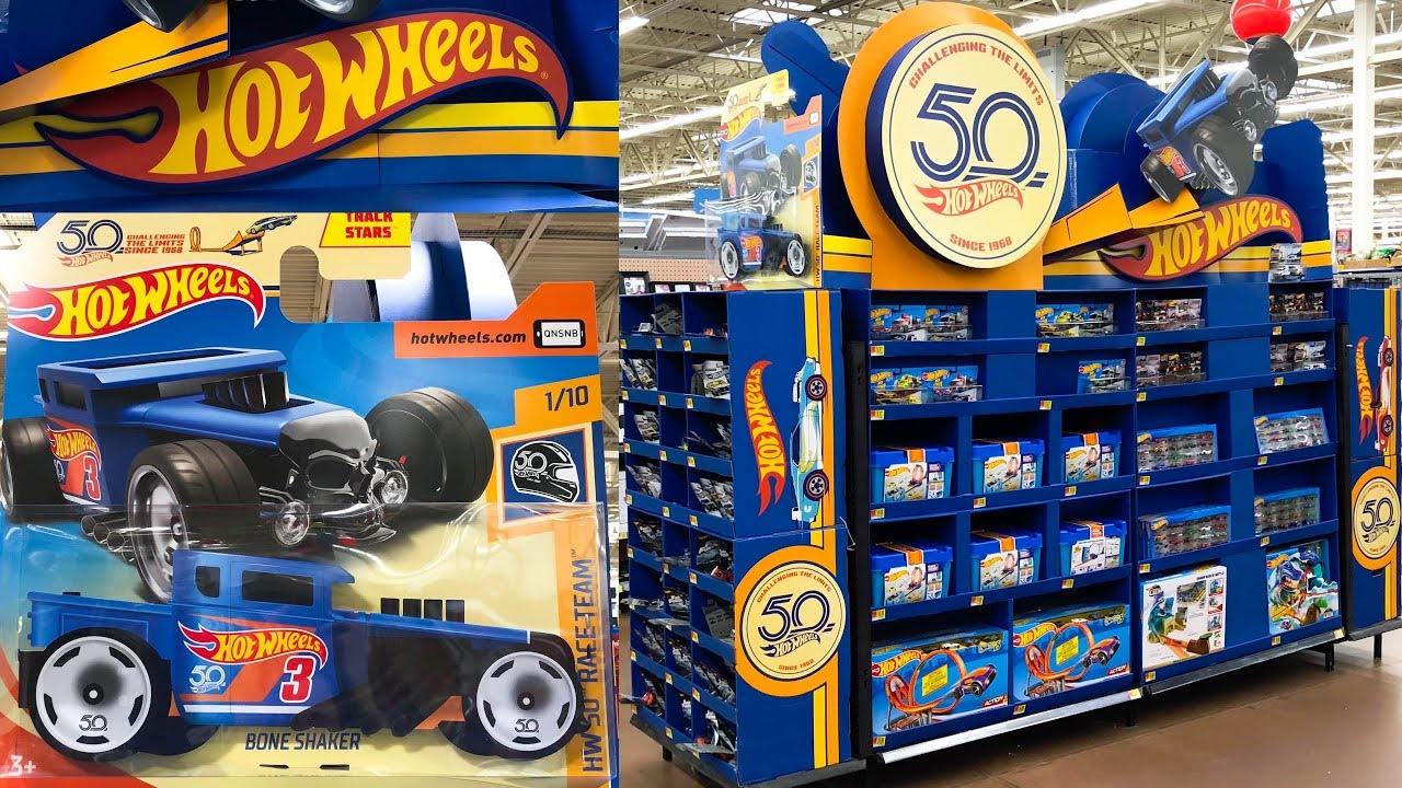 Ultimate Hot Wheels Toy Car Display At Walmart Youtube