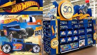 Ultimate Hot Wheels Toy Car Display At Walmart!