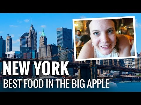 The BEST FOOD in NEW YORK CITY!
