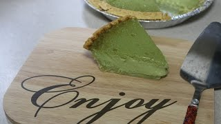 Matcha Custard Pie (Collaboration with Tammy & Joanna)