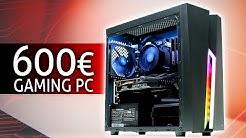 600 Euro GAMING PC 2019 | Der SCHNELLSTE den DU derzeit bauen kannst! | TEST & Zusammenbauen