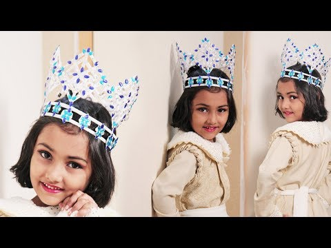 How to Make Miss World Crown With Newspaper - #DIYCRAFTS