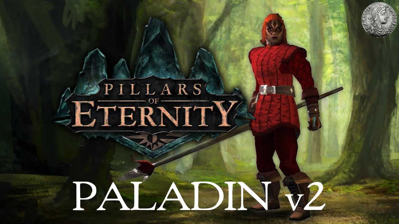 PIllars of Eternity - Character Creation Min-Max Guide - Paladin  (Offensive/High DPS) + Combat Demo