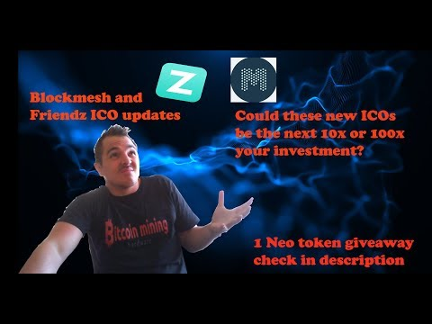 Blockmesh and Friendz ICO updates 10x or 100x times investments