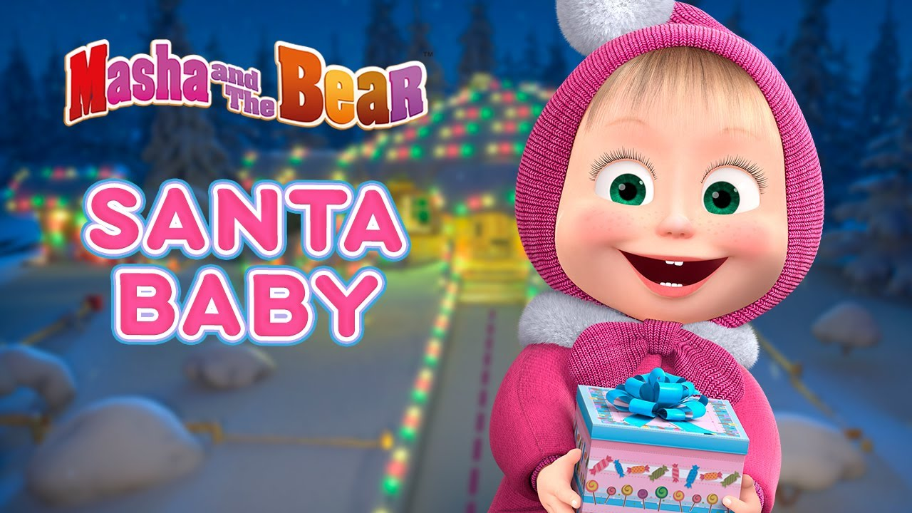 Download Masha and the Bear 🎄 SANTA BABY 🎁 Best Christmas episodes collection 🎬 Cartoons for kids