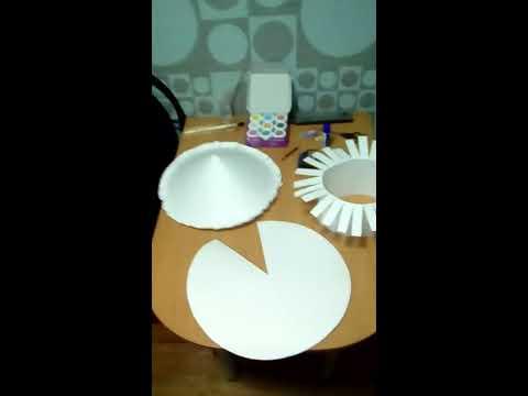 Как сделать шляпку гриба из бумаги своими руками