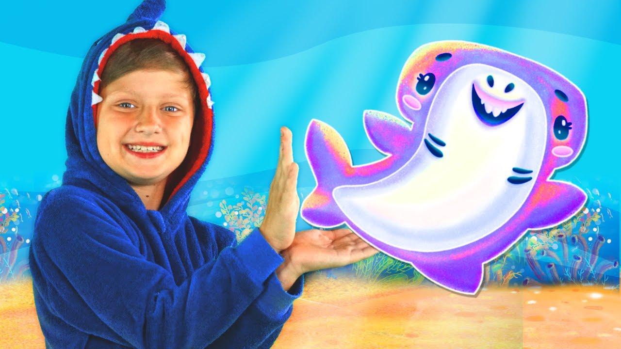 Baby Shark Song & Nursery Rhymes for children | Tiki Taki Song