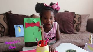 How To Make An Easy Handmade Father's Day Card For Kids