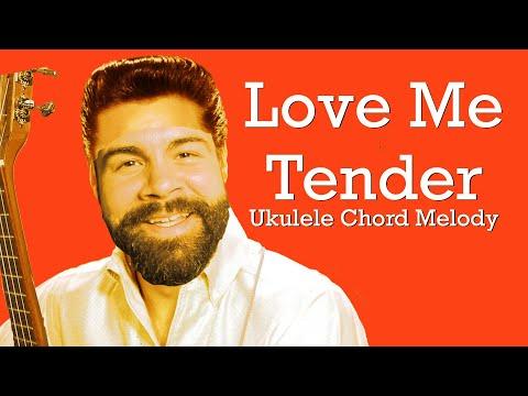Love Me Tender - Elvis Presley - Beginner Chord Melody