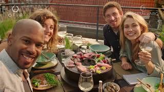 BARBACOA DE MESA OFYR TABL'O video