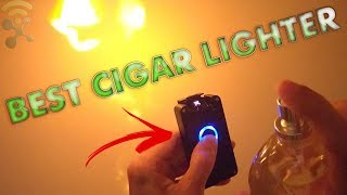 OUMOSI Cigar Lighter - Rechargeable Windproof Electronic Dual Arc Plasma : Unboxing & Review